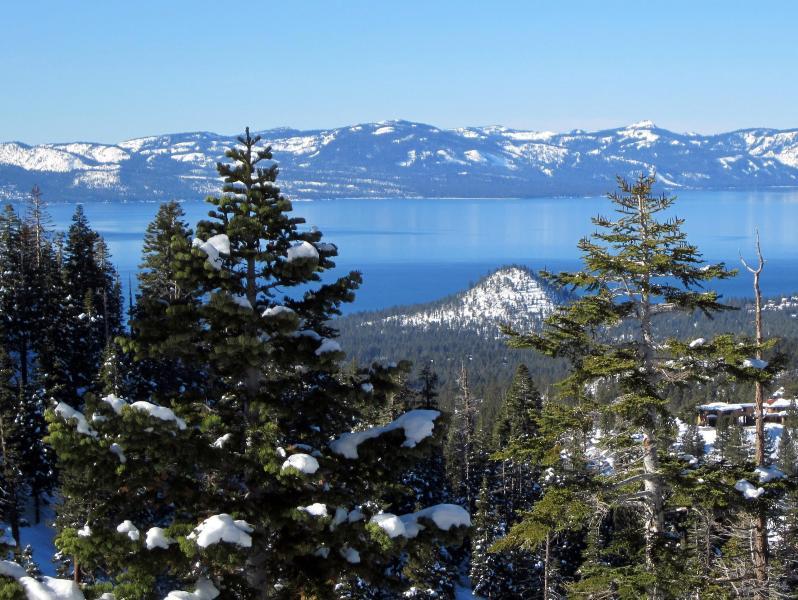 Lake Tahoe view - short walk from condo