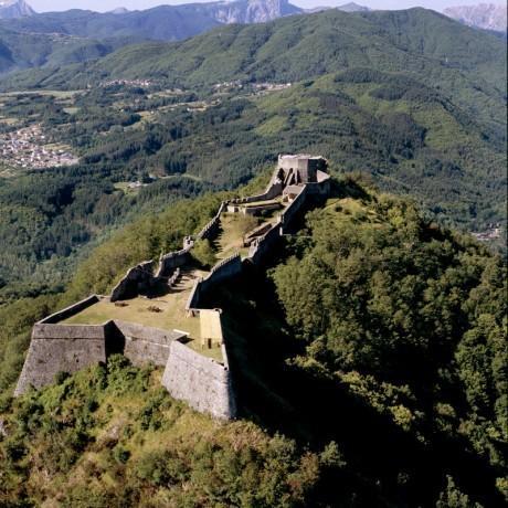 Die Festung von Verrucole