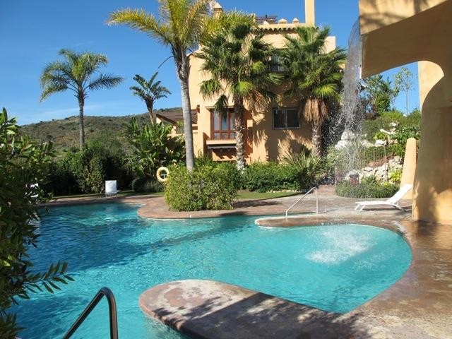 Mijas Costa Vacation Rental - 3 bedroom townhouse available with pool, sea views, gym, sauna and ...
