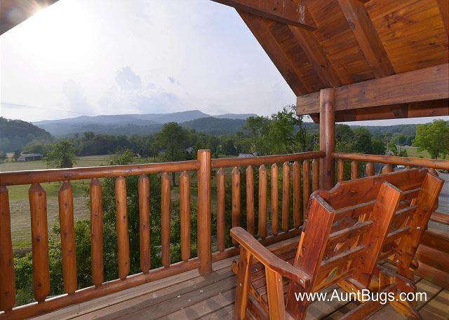 Poolside Retreat #221- View From the Deck of the Cabin