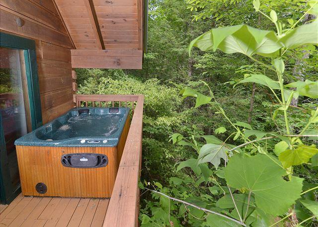 Foxy Lady #1531- Hot Tub on the Deck