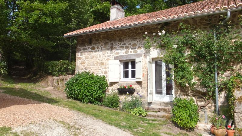 Cottage in picturesque rural location, vacation rental in Saint-Saud-Lacoussiere