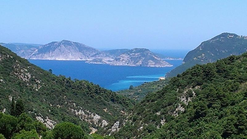Sea views of neighboring island.