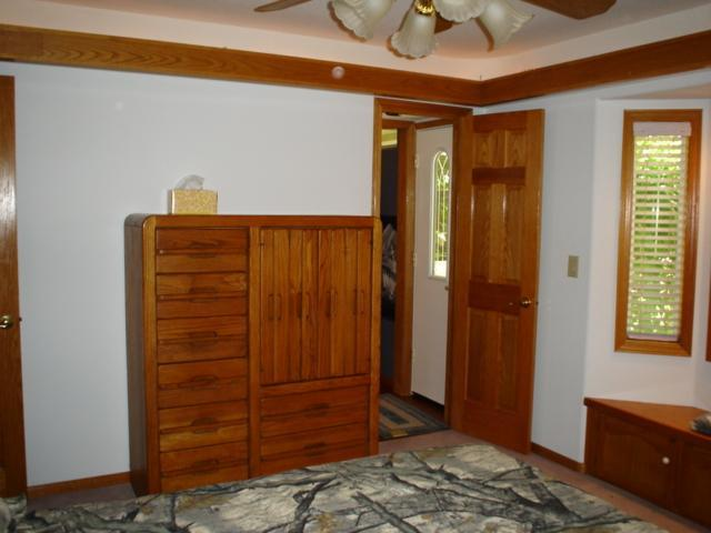 Private exit from Guest Bedroom