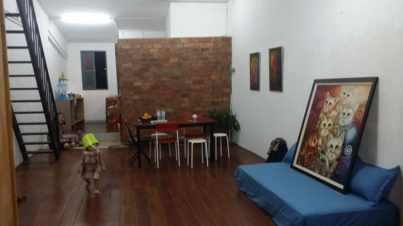 Private Loft in a century old heritage shophouse, holiday rental in Kota Samarahan