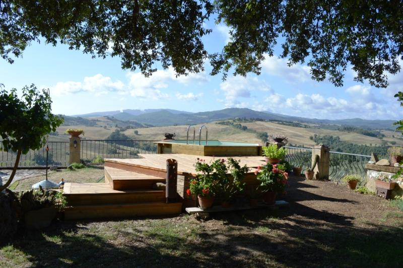 Agri-Bio podere Santa Palmira, vakantiewoning in Pomarance