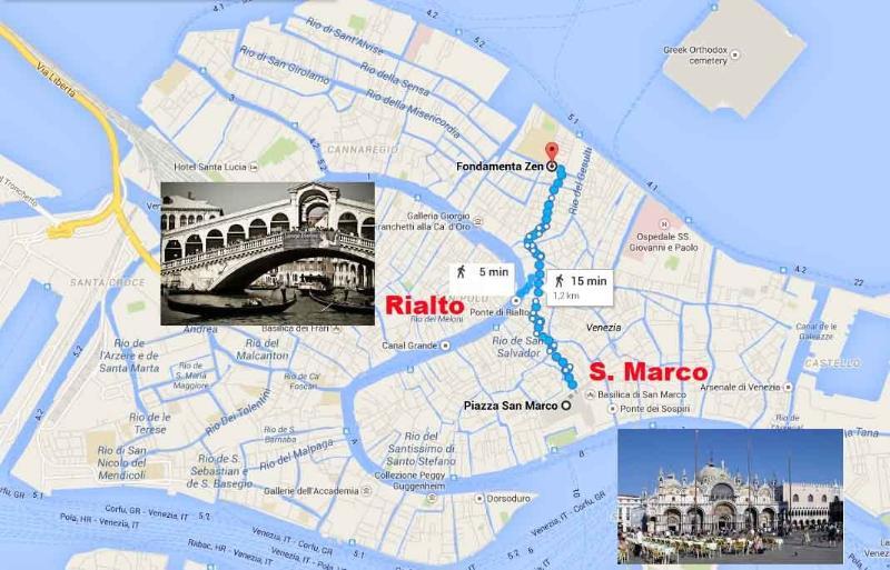 Nel cuore del centro storico a due passi dal Ponte di Rialto