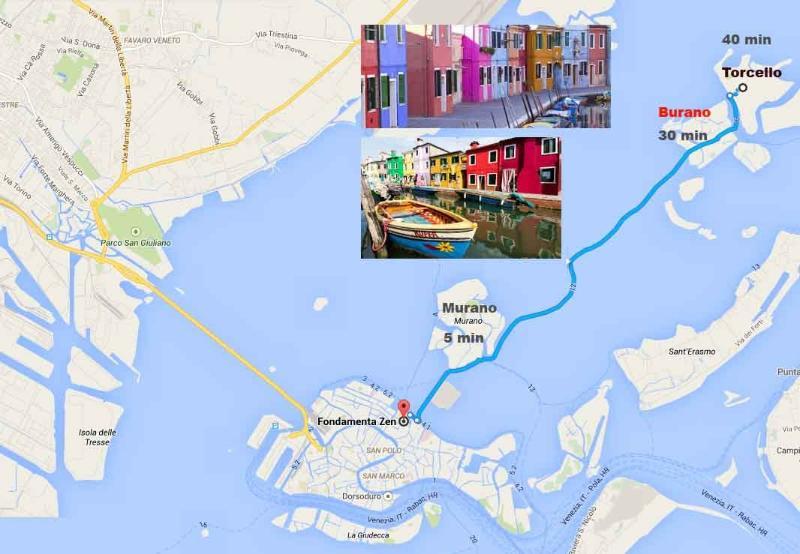 Ideale per visitare le bellissime Isole della Laguna di Venezia, Murano, Burano, Torcello