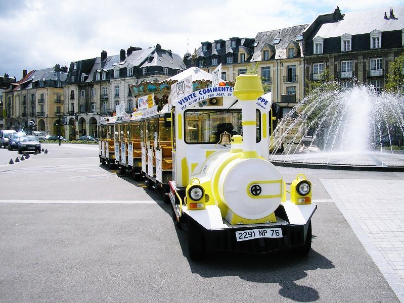 Le petit train touristique de DIEPPE 76