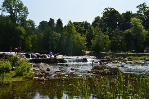 Sauble Falls es uno de los secretos mejor guardados de Sauble!