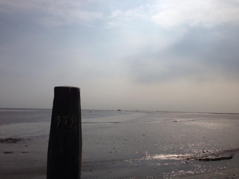 Beach at Schiermonnikoog, one of the day trips from the Lutje Hoeske