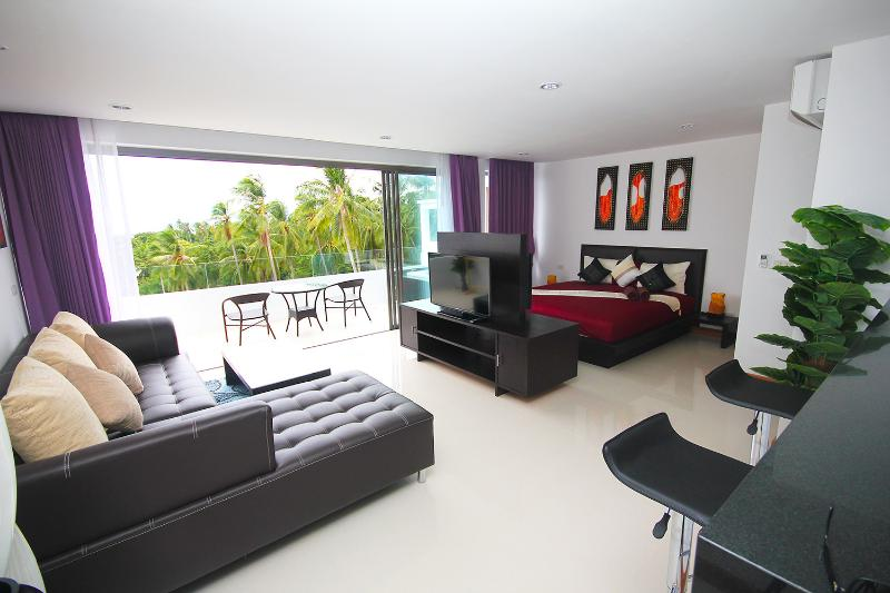 Luxury 1 bedroom apartment with jacuzzi sea view, vacation rental in Lamai Beach