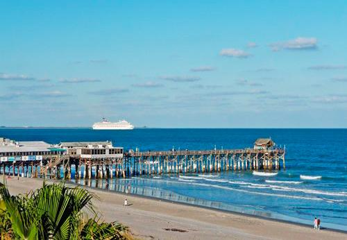 Steps away from the famous Cocoa Beach Pier!