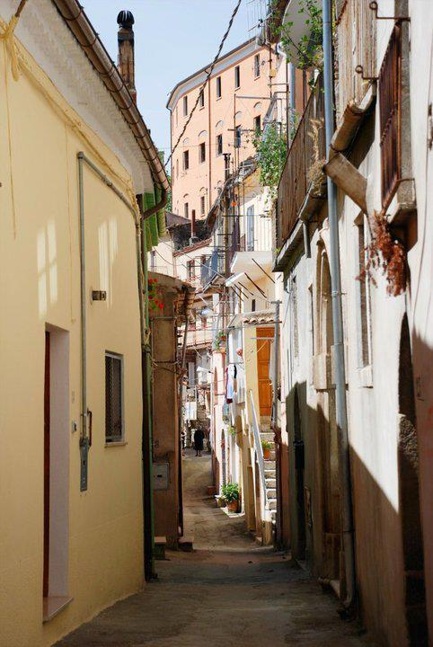 The streets of the Borgo