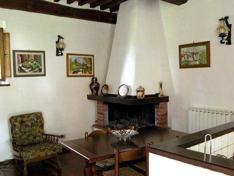 Hayloft sitting-dining room
