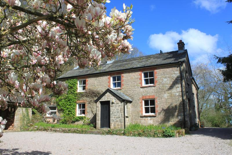 Church Hill Farm with Magnolia in Flower