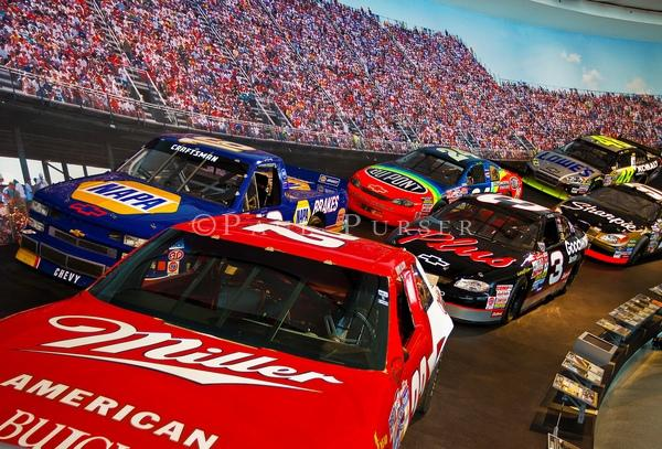 Or stop in at Nascar Hall of Fame.