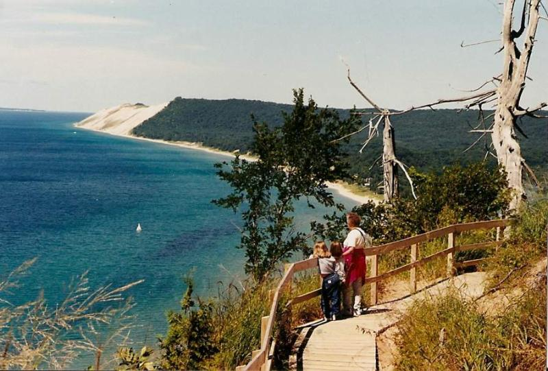We're 40 minutes from Sleeping Bear National Lakeshore--voted the most beautiful park in the U.S.