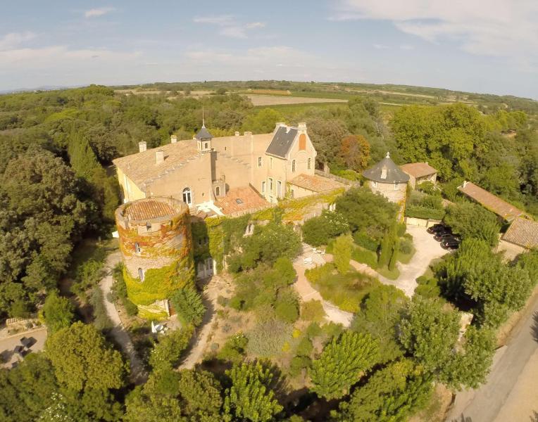 Hermitage de Combas castle in south of france
