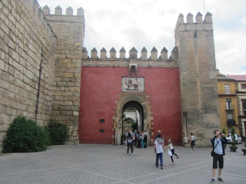 The Royal Alcazar Palace in Seville