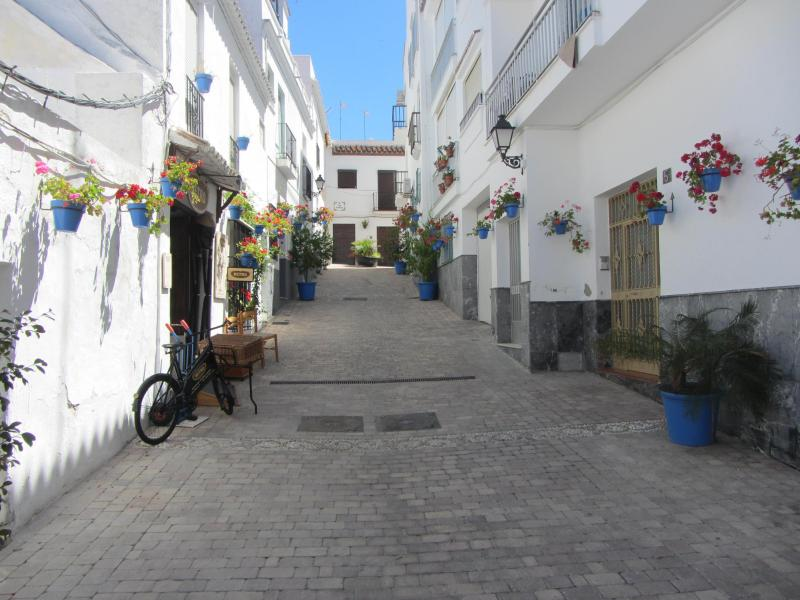 The old town at Estapona.
