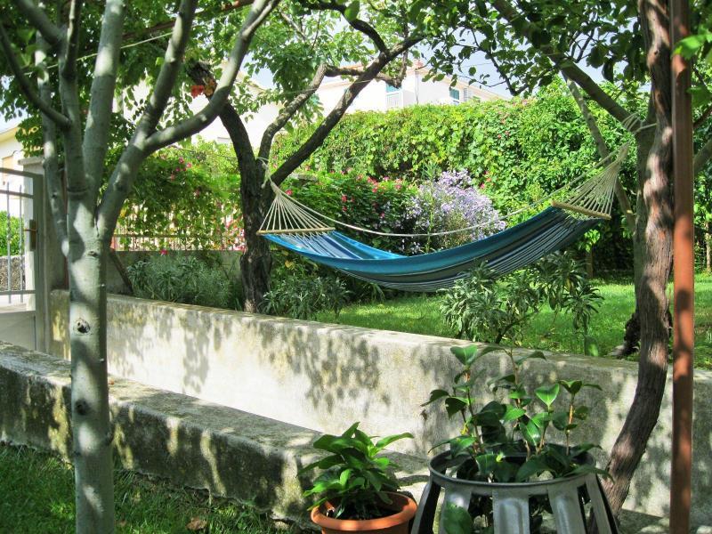 A hammock...