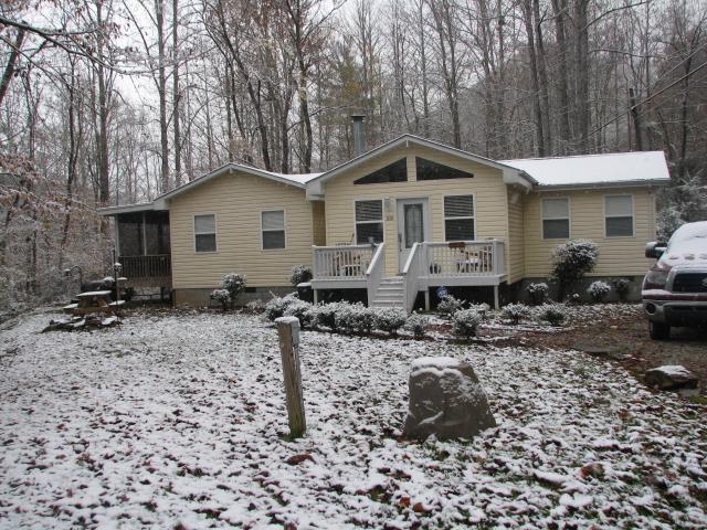 First snowfall. Oct. 31, 2014
