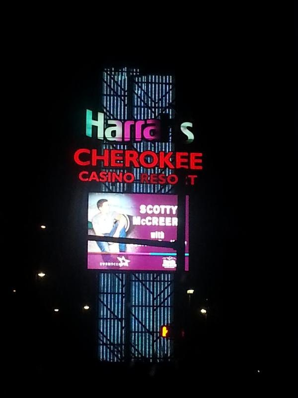 How about a headliner show or some slots? Harrah's Cherokee Casino is a short drive