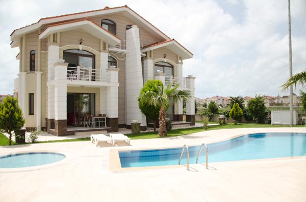 THE TWO SEMI DETACHED VILLAS , EACH WITH THREE BEDROOMS. Can be booked individually.