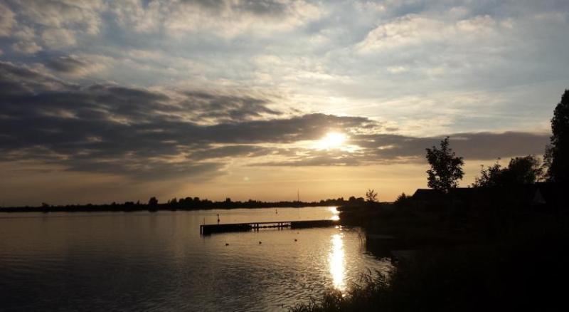 Uitzicht over het Lauwersmeer