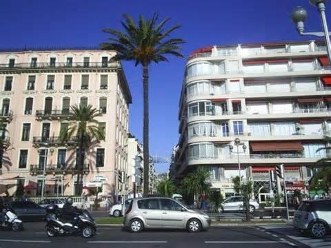 Ansicht rue Meyerbeer von Promenade