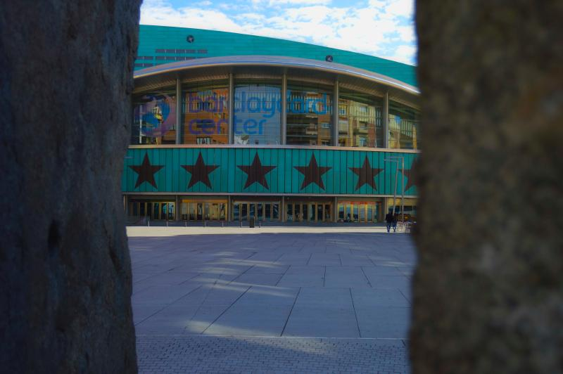 The Basketball world cup was played here. And bands like The Cure and much more have played here.