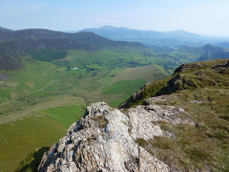 Uitzicht op Newlands vallei