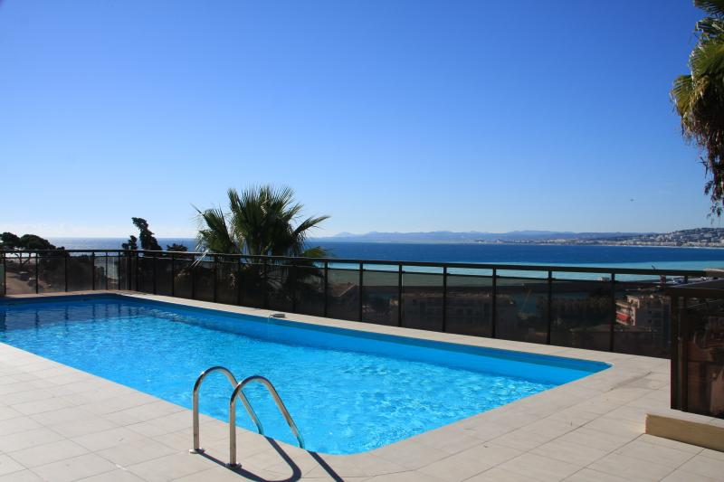 Pool with View over La Baie des Anges