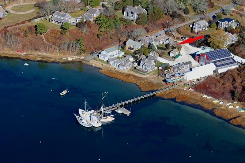 View from above! - 51 Eliphamets Lane (Windmill House) Chatham Cape Cod New England Vacation Rentals