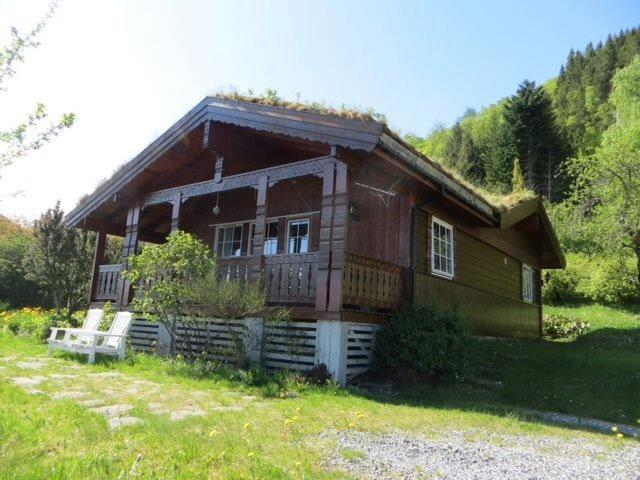 Chalet from the front