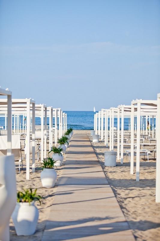 la spiaggia di Giulianova