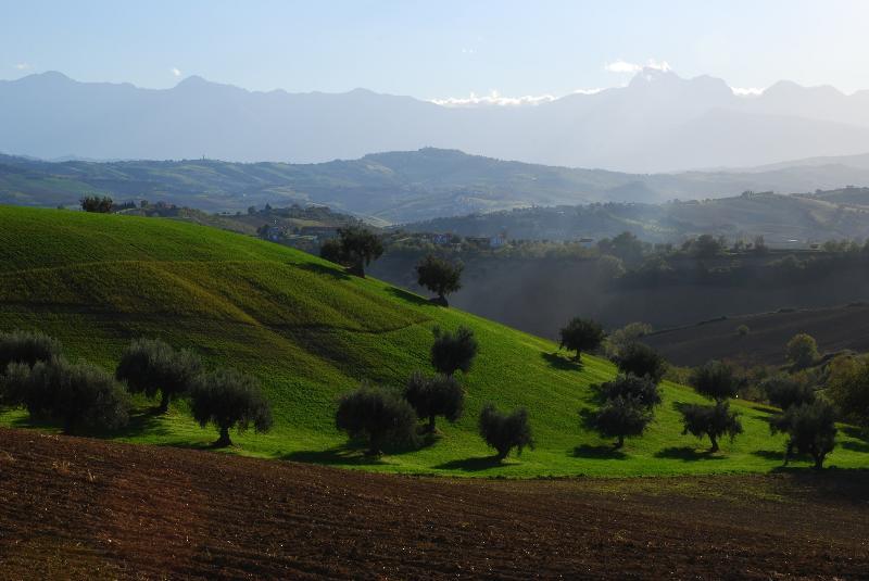 Le colline Teramanas
