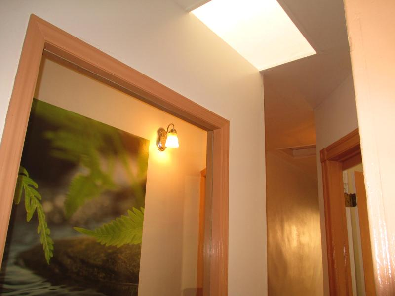 sky light hallway