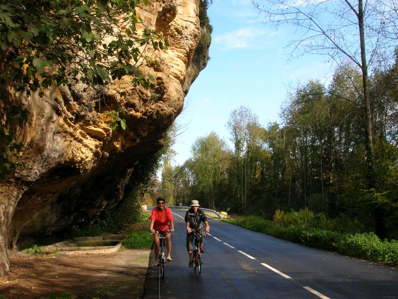 Cycling for pleasure in the Dordogne
