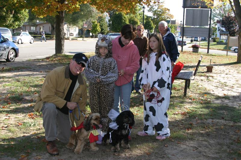 Highlighting the Fall Festival parade is the Mutt March.