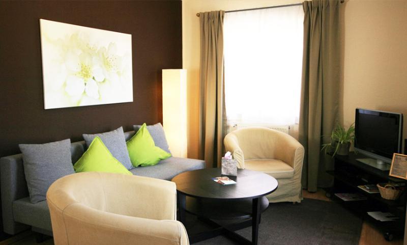 Apartments 'Crassoberg' living room