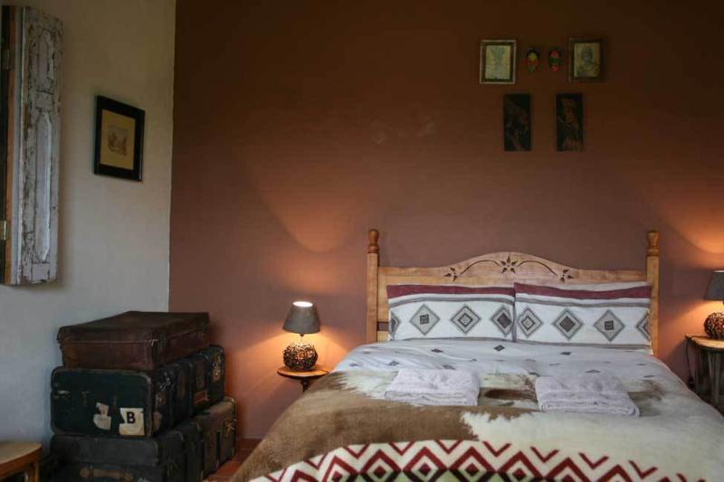 Habitación con cama doble D'Waenhuis