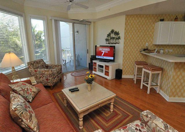 Living Area w/ Flat Panel TV