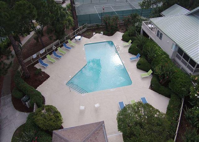 Beachside Homes Pool Area