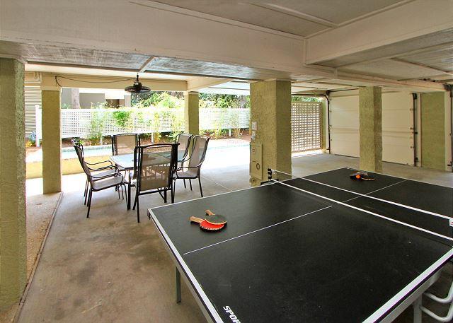 Ping Pong in Garage