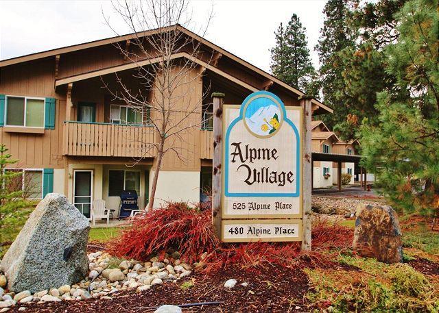 Alpine Village Exterior Condominium Complex