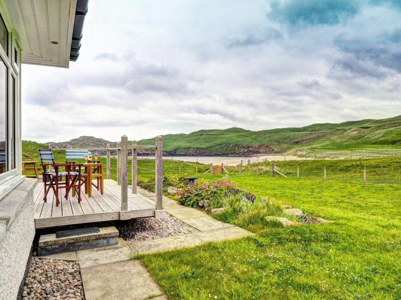 Views over Cliff Beach from the deck. Perfect spot to enjoy the peace and quiet.