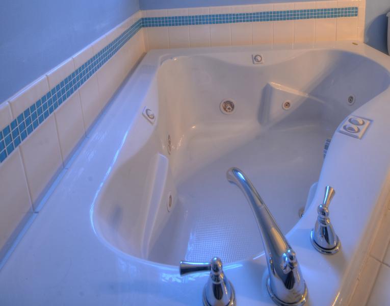 Master bath Jacuzzi bath tub