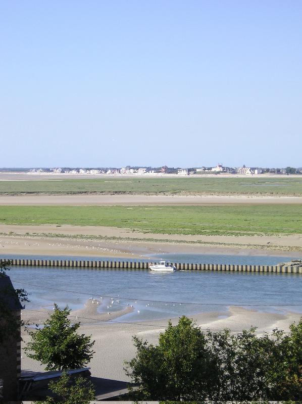 Uitzicht over de baai van Le Crotoy